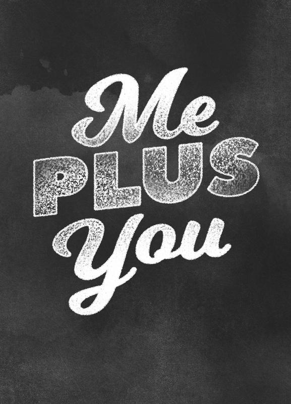 Me Plus You toile