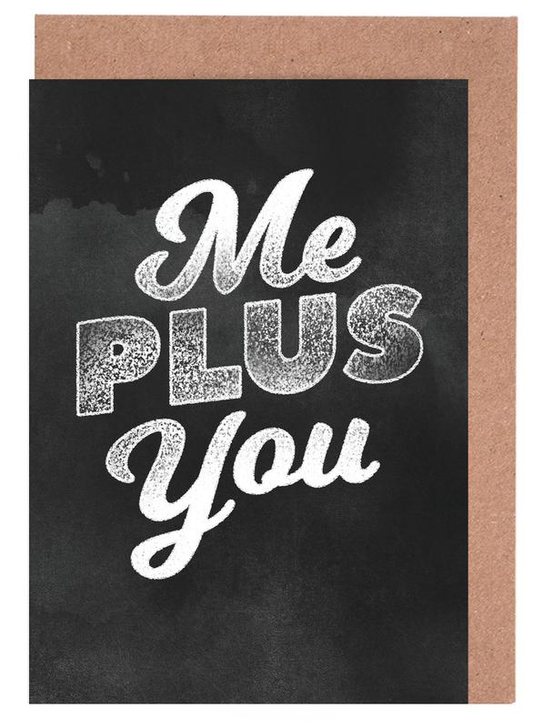 Me Plus You cartes de vœux