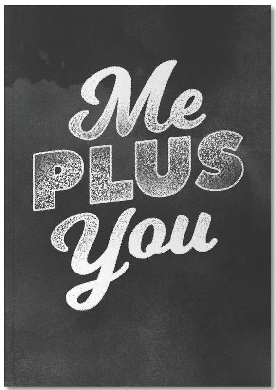 Me Plus You Notebook