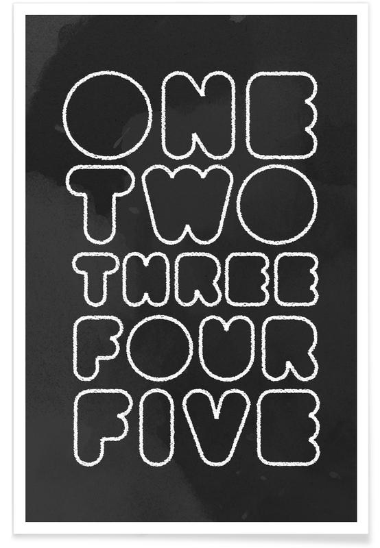 One Through Five poster