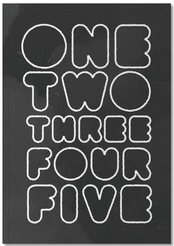 One Through Five Notebook