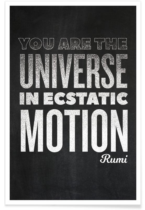 You Are the Universe poster