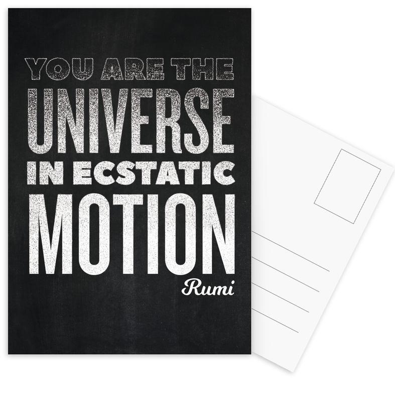 You Are the Universe cartes postales