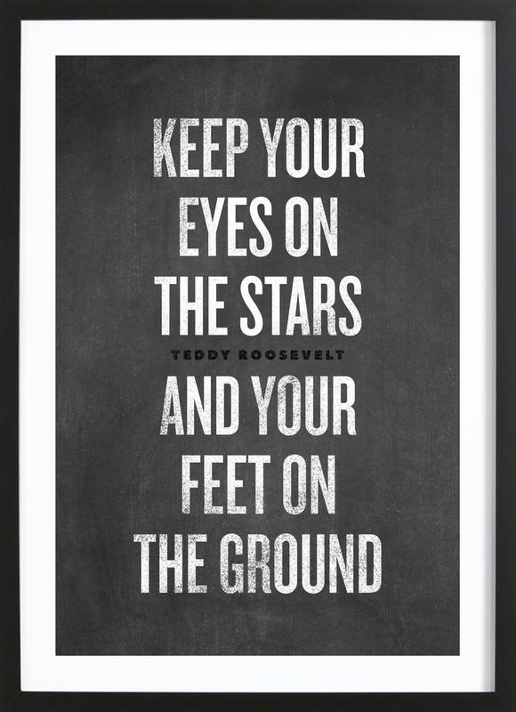 Eyes on the Stars Framed Print