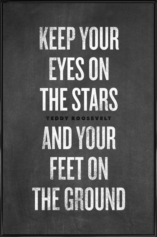 Eyes on the Stars ingelijste poster