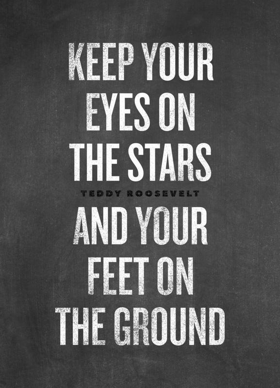 Eyes on the Stars canvas doek