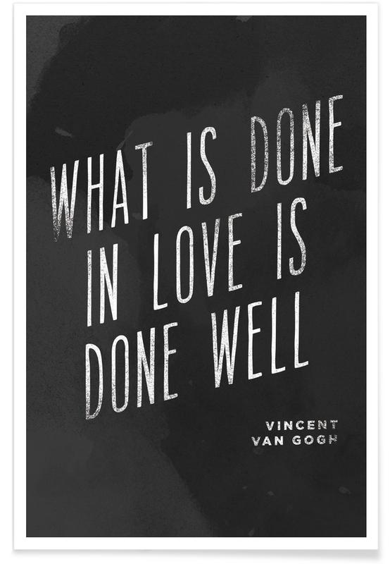 Done in Love affiche