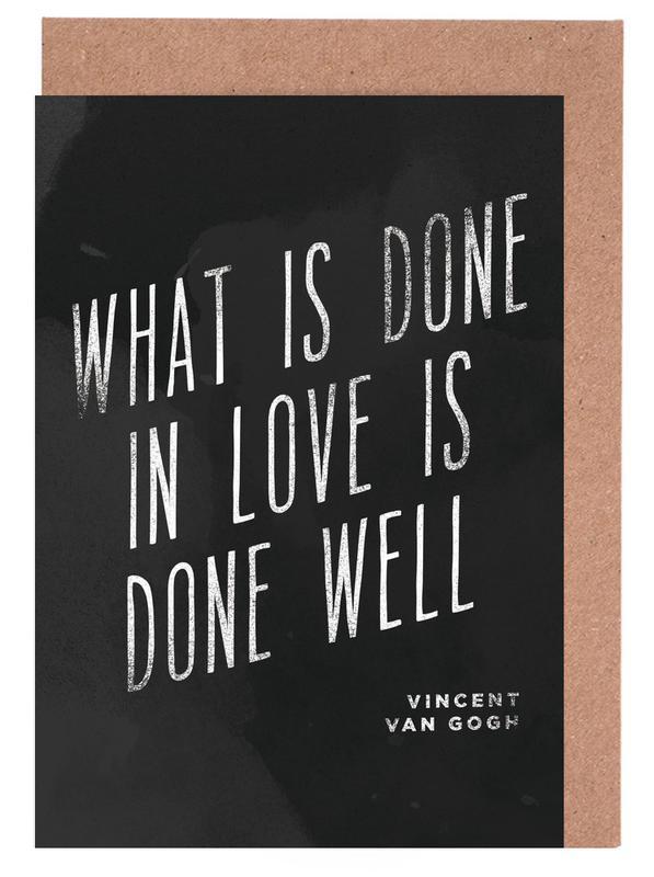 Done in Love cartes de vœux