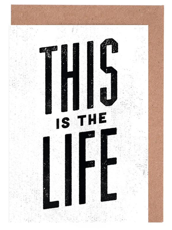 This Is the Life cartes de vœux