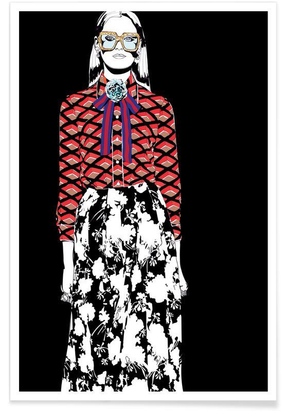 Modeillustration, Just Fashion 2 -Poster