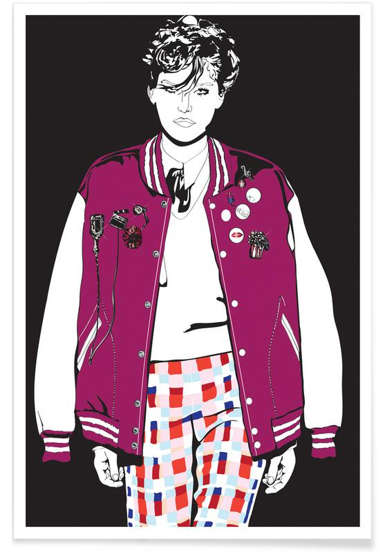 Fashion Illustrations, Just Fashion 3 Poster