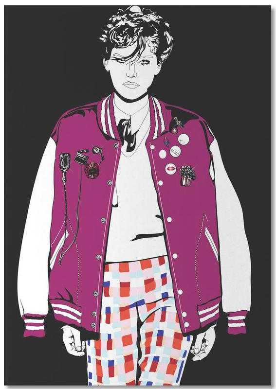 Modeillustration, Just Fashion 3 -Notizblock