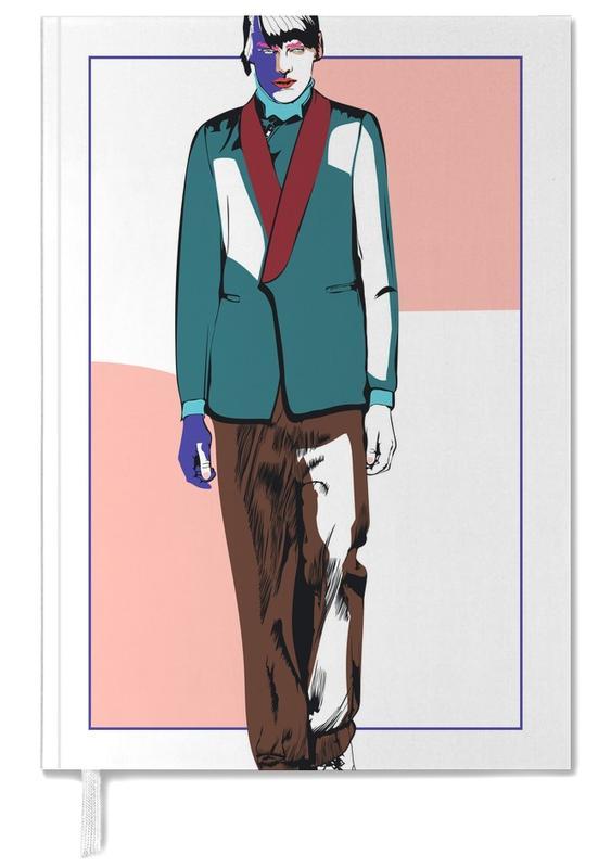Illustrations de mode, Man 3 agenda