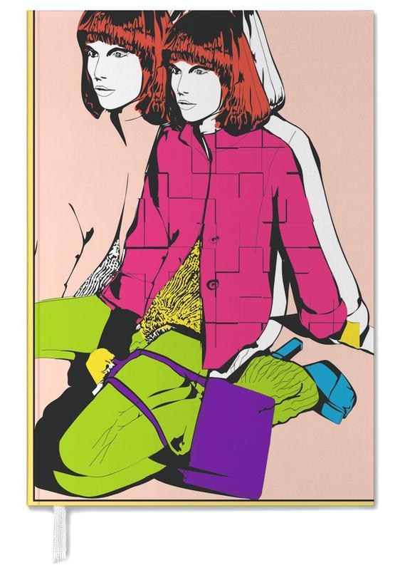 Illustrations de mode, Pop Art, Pop 2 agenda
