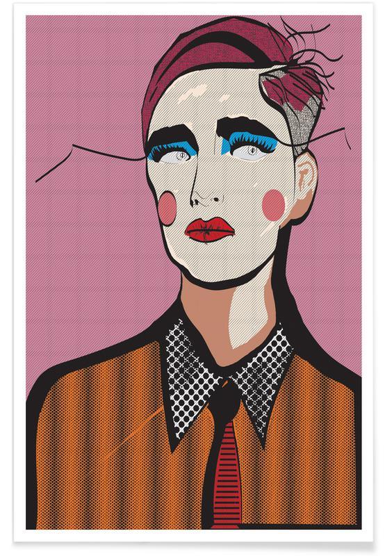 Portraits, Popism Poster