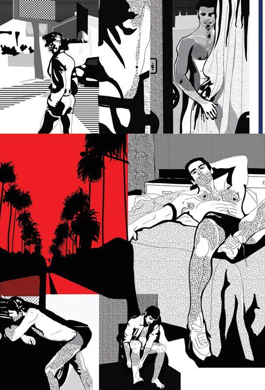 West Hollywood Acrylic Print