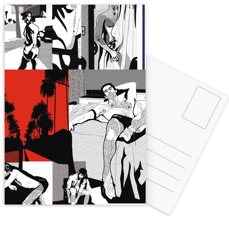 , West Hollywood -Postkartenset