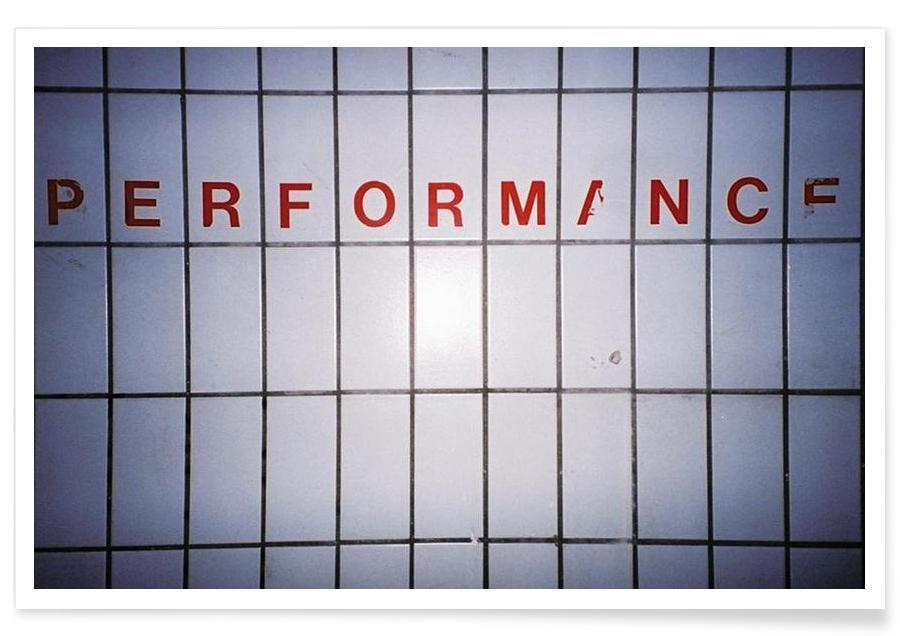 Performance -Poster