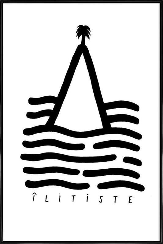 Ilitiste -Bild mit Kunststoffrahmen