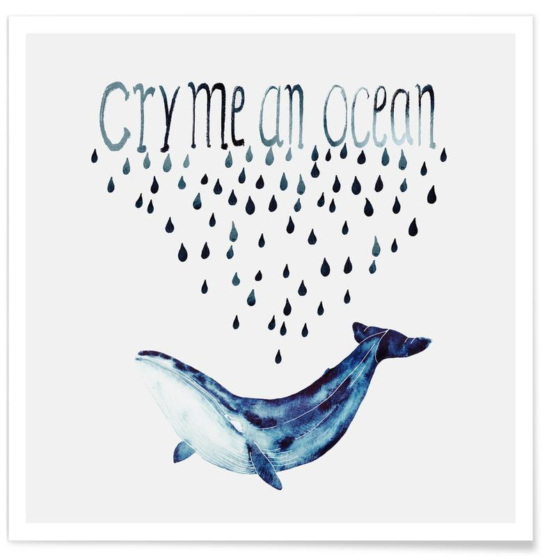 Wale, Cry Me an Ocean -Poster