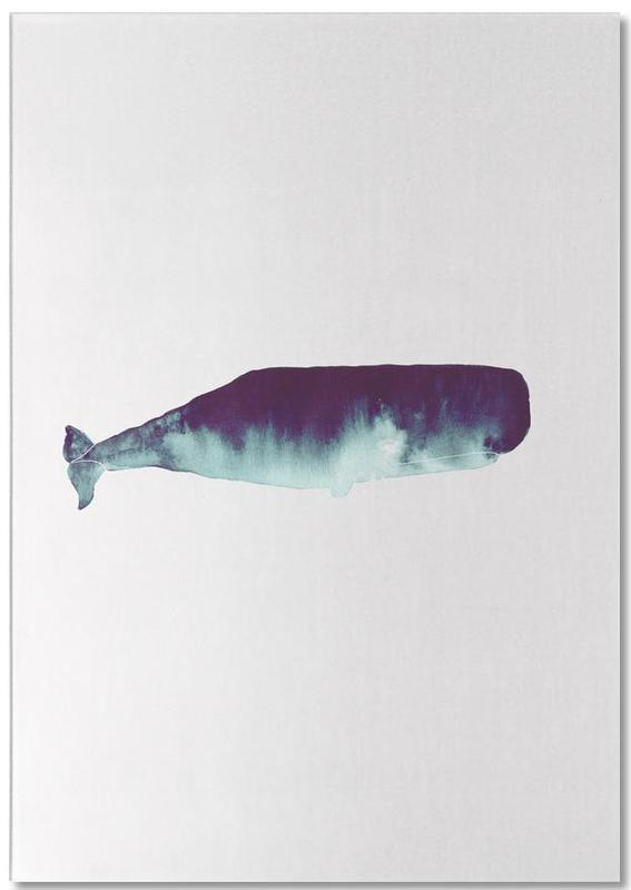 Whale I -Notizblock