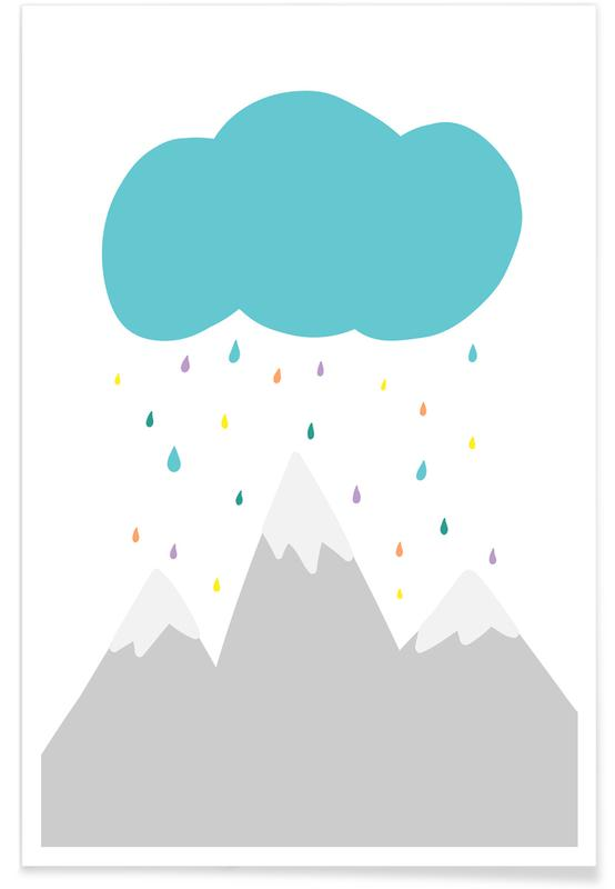 Wolke Poster