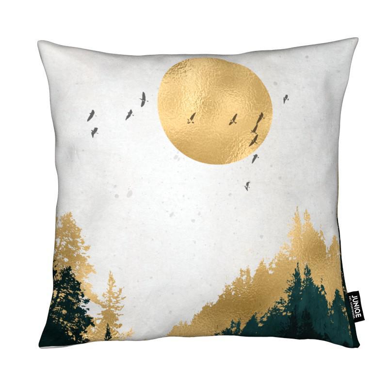 Montagnes, Paysages abstraits, Forêts, Goldmond coussin