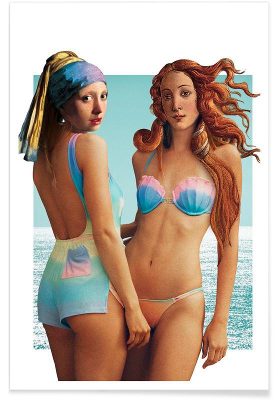 Beach Girls -Poster