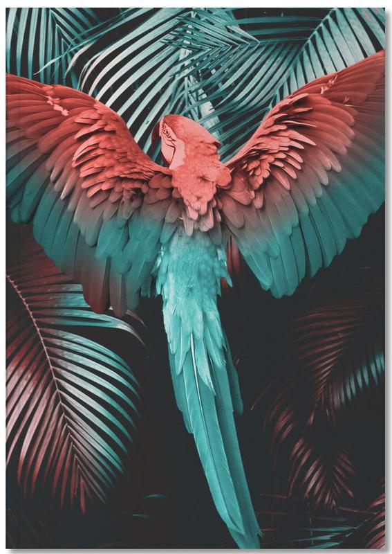 Palms, Parrots, Tropical Storm Notebook