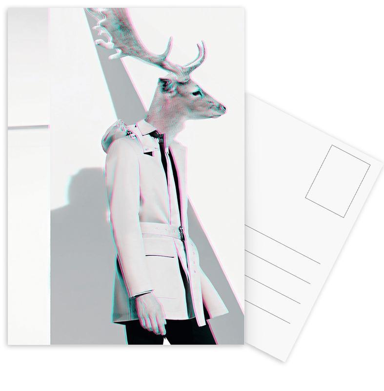 Deer cartes postales