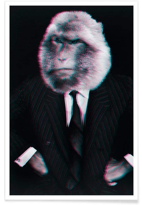 Créatures et hybrides, Photos de mode, Monkey affiche
