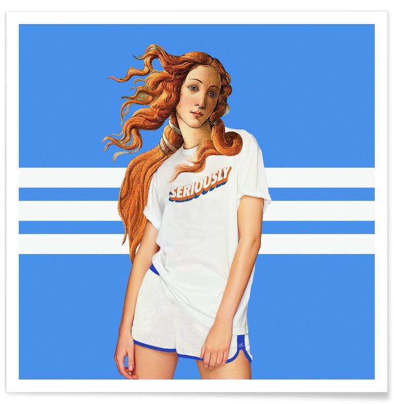 Porträts, Venus Outfit -Poster