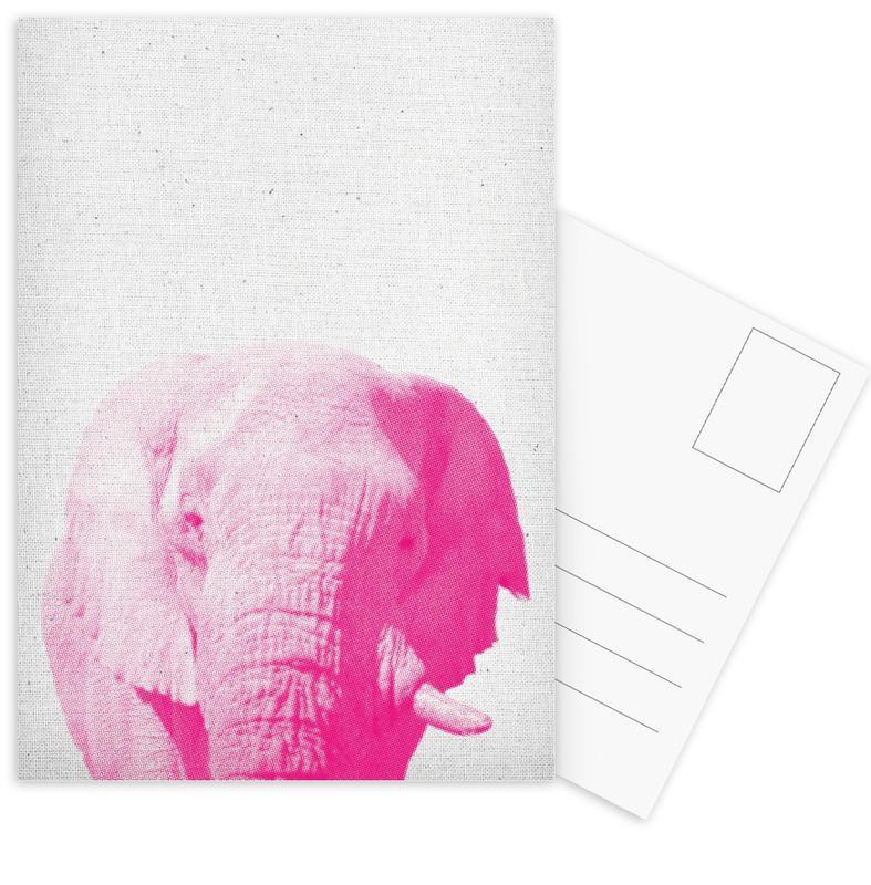 Elephant 02 Postcard Set