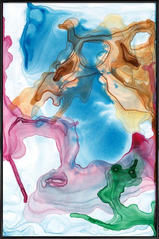 Spring 03 -Bild mit Kunststoffrahmen