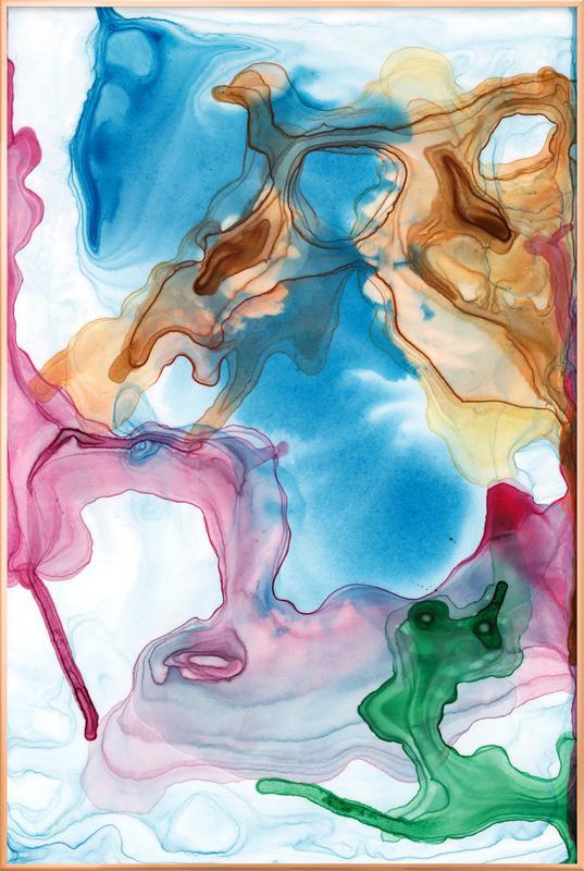 Spring 03 -Poster im Alurahmen