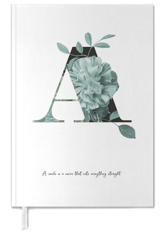 Flower Alphabet - A -Terminplaner