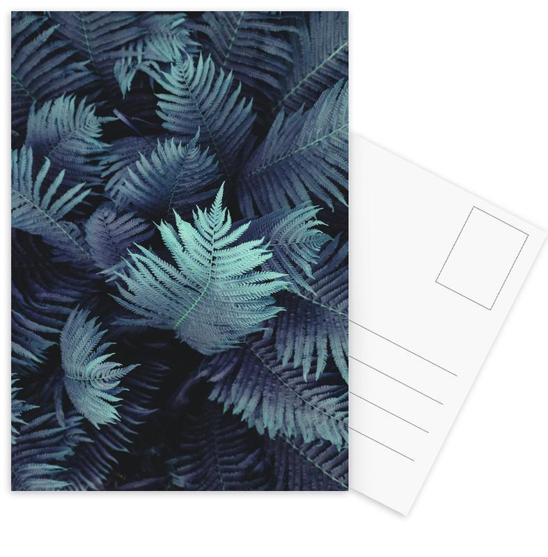 Bladeren en planten, Farn 01 ansichtkaartenset