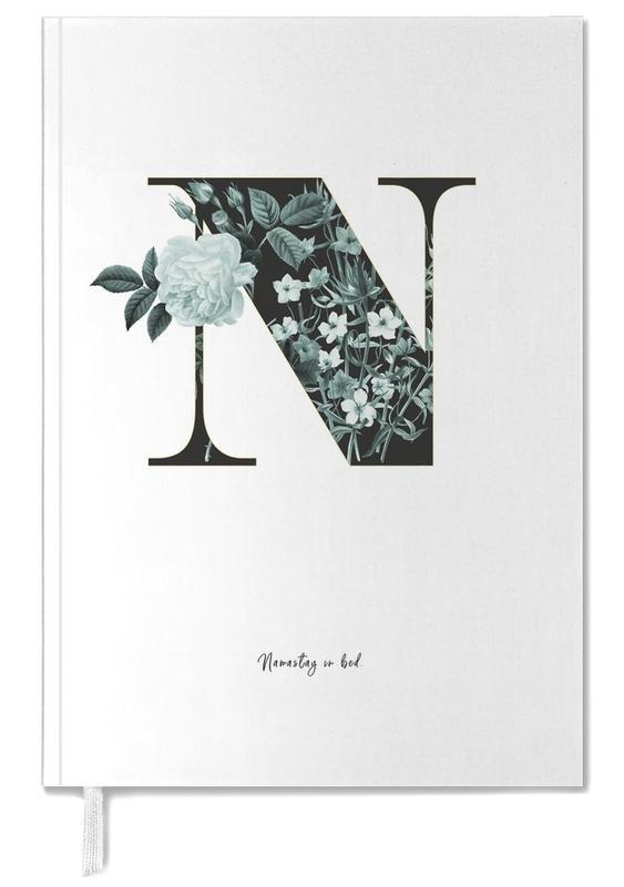 Flower Alphabet - N -Terminplaner