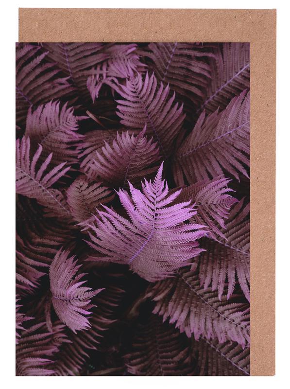 Blätter & Pflanzen, Farn 02 -Grußkarten-Set