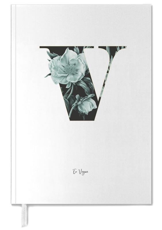 Flower Alphabet - V -Terminplaner