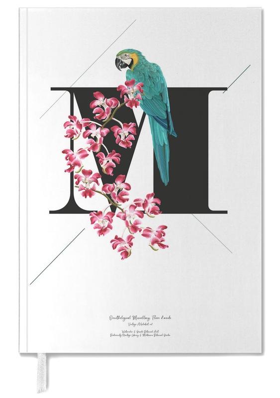 Botanical Alphabet - M -Terminplaner