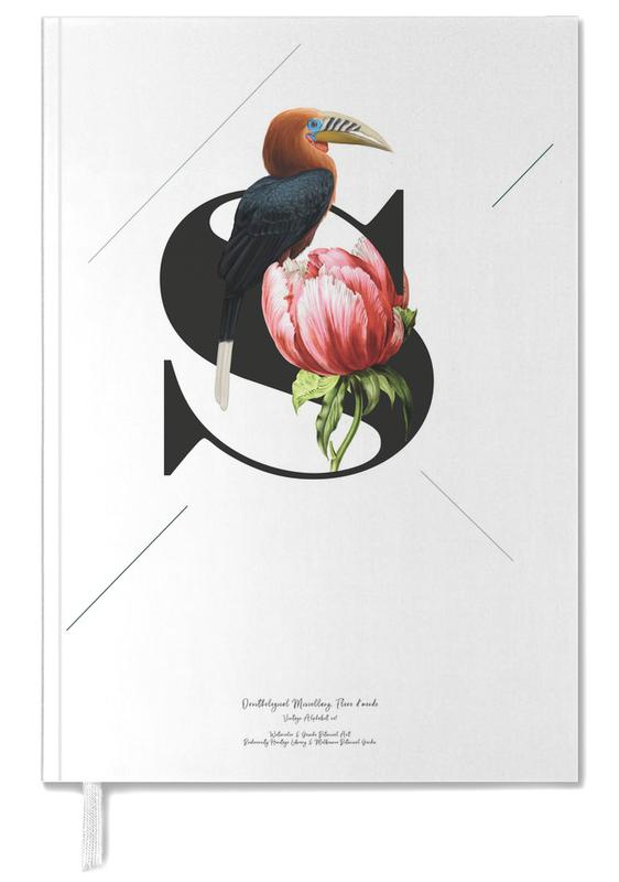 Botanical Alphabet - S Personal Planner