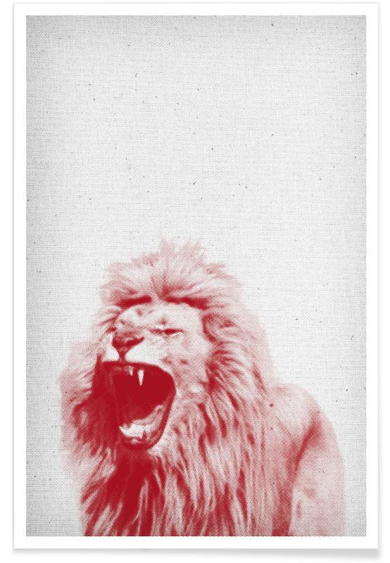 Lions, Lion affiche