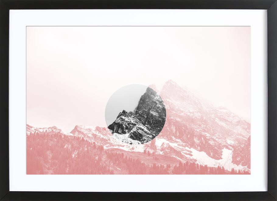 Mountain 01 ingelijste print