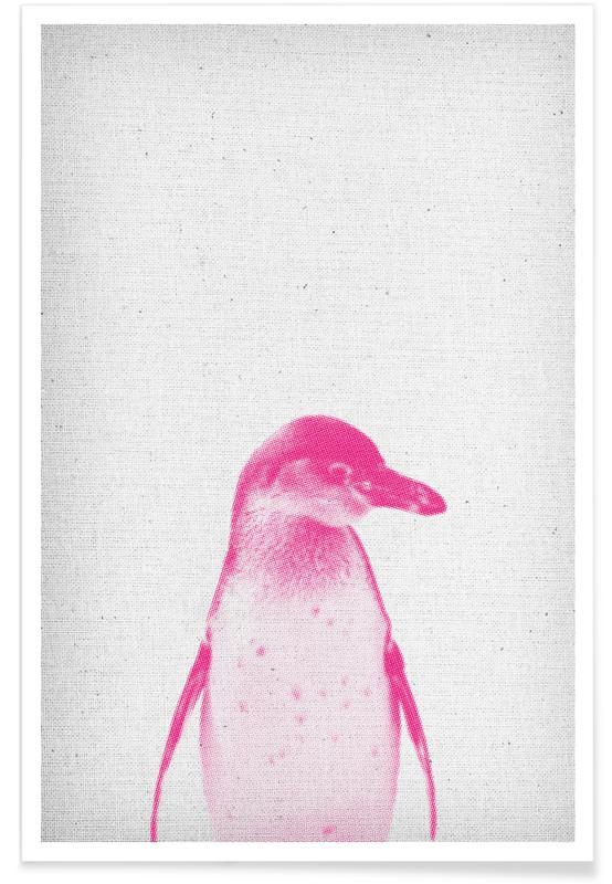Kinderzimmer & Kunst für Kinder, Pinguine, Pinguin 02 -Poster