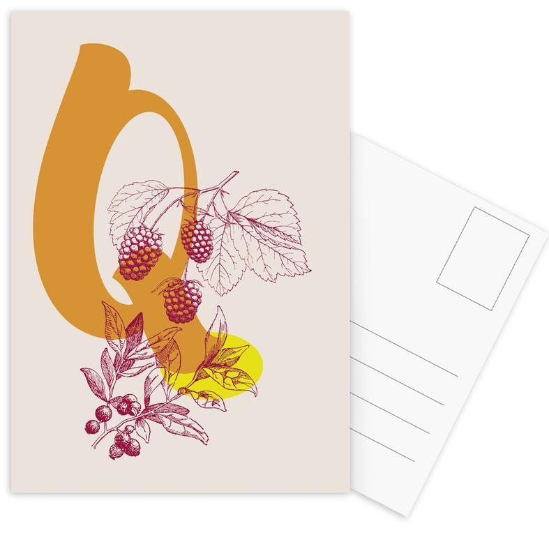 Q Postcard Set