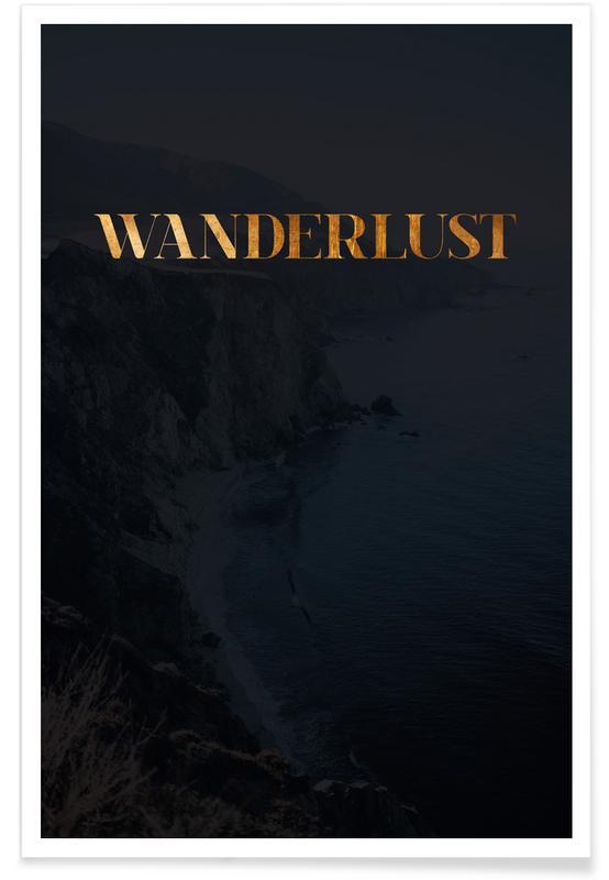 Zitate & Slogans, Wanderlust -Poster