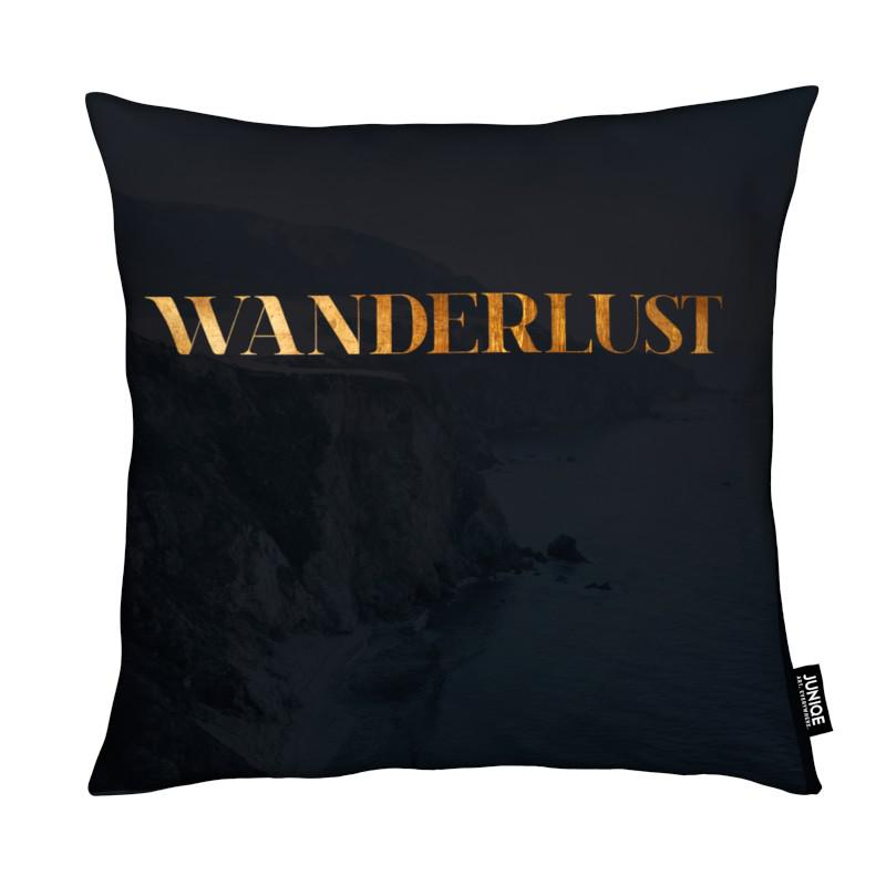 Citations et slogans, Wanderlust coussin