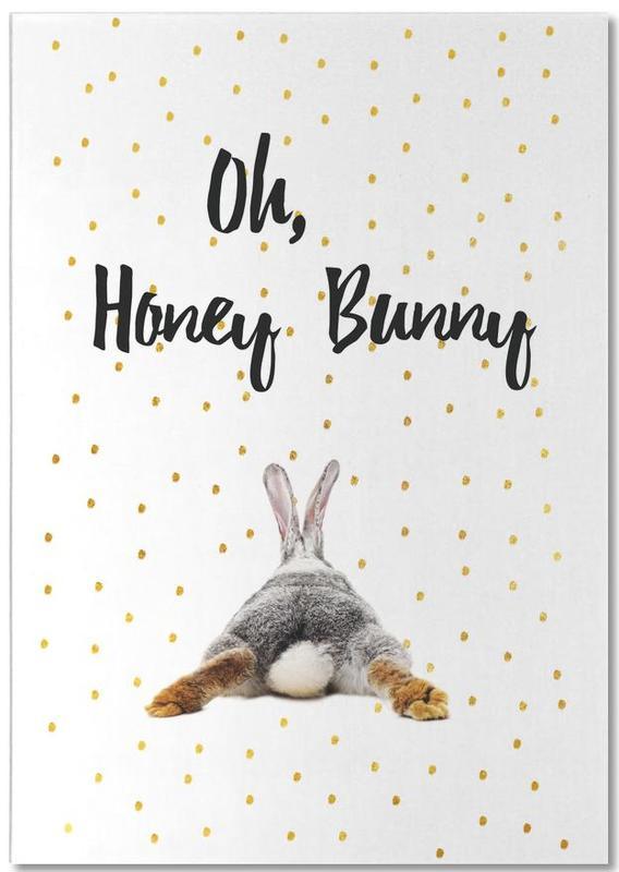 Honey Bunny -Notizblock