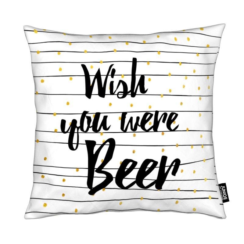 Citations et slogans, Bière, Humour, Beer coussin